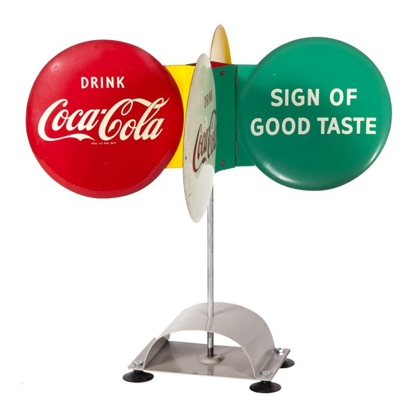 Coca-Cola Spinner Sign