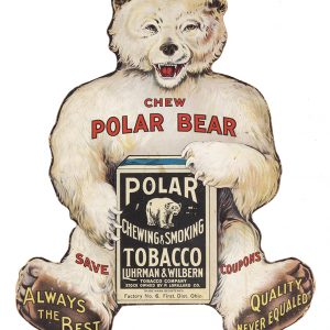 Polar Bear Tobacco Sign