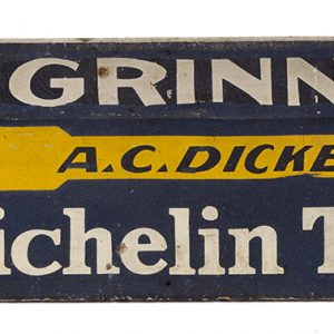 Michelin Tires Wooden Sign