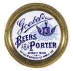 Goebel's Porcelain Beer Tray