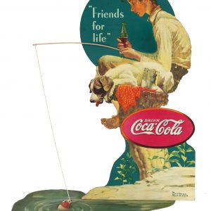 Coca-Cola Window Display (Norman Rockwell)