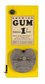 Theater Chewing Gum Vendor