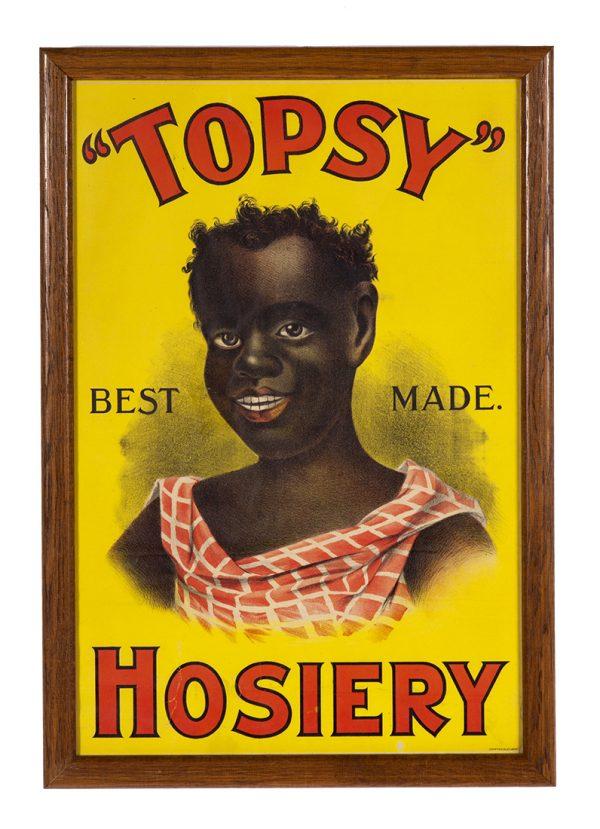Topsy Hosiery Sign