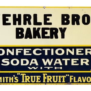 Soda Fountain Sign