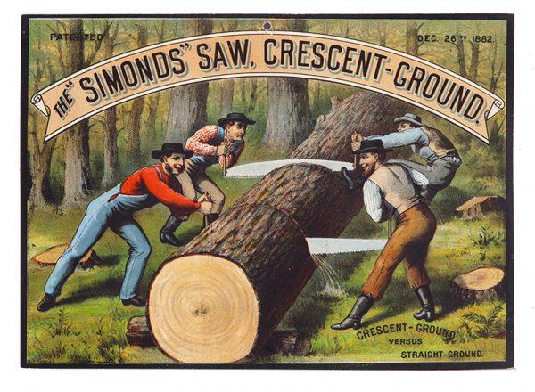Simond's Saws Sign