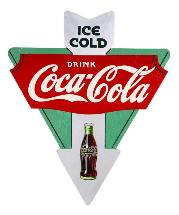 Coca-Cola 1930's  Arrow Sign