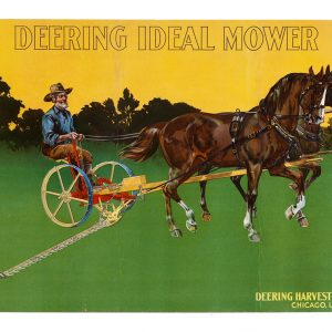 Deering Harvesters Sign