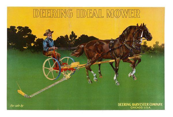 Deering Harvesters Sign