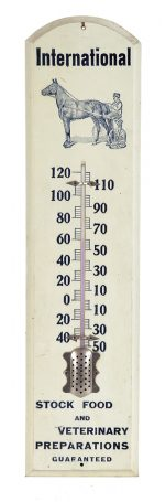 International Stock Food Co. Veterinary Thermometer