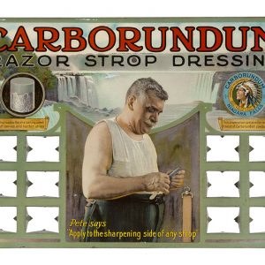 Carborundum Shaving Display
