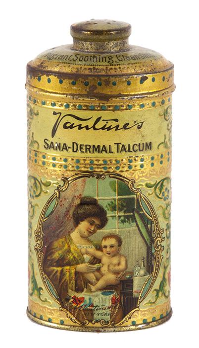 Vantine Talcum Powder Tin