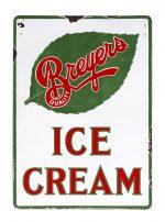 Breyers Ice Cream Porcelain Sign