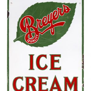 Breyers Ice Cream Porcelain Sign