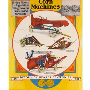 McCormick-Deering Agricultural Implements Poster