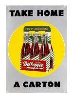 Dr. Pepper Carton Sign