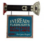 EveReady Flashlights Flange Sign