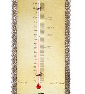 Williams Shaving Soap Thermometer