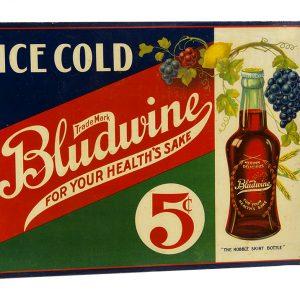 Bludwine Soda Flange Sign