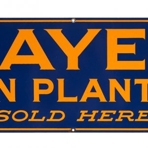 Hayes Corn Planters Porcelain Sign