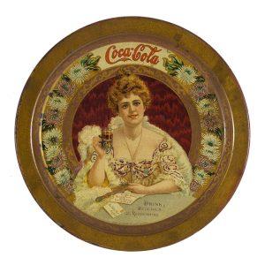 Coca-Cola Tip Tray 1903