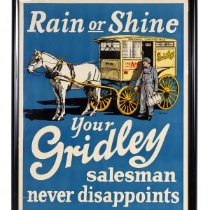 Gridley Dairy Poster