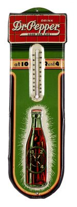 Dr. Pepper Thermometer