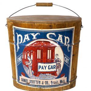 Pay Car Tobacco Bucket