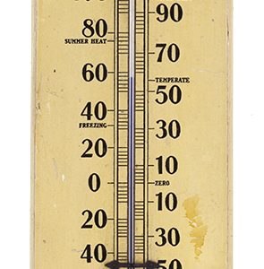 Dr. Daniels' Oversized Drugstore Thermometer