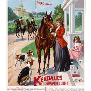 Kendall's Spavin Cure Veterinary Sign