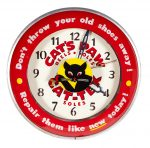 Cat's Paw Soles Light-Up Clock