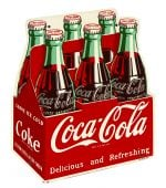 Coca-Cola 6-Pack Sign
